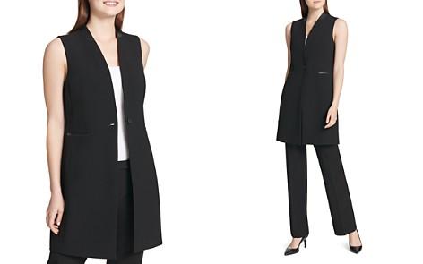 Calvin Klein Long Vest - Bloomingdale's_2