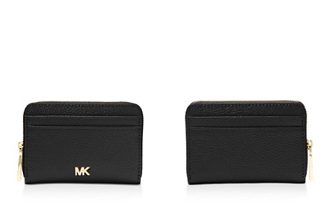 MICHAEL Michael Kors Money Pieces Zip Around Leather Coin & Card Case - Bloomingdale's_2