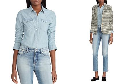 Lauren Ralph Lauren Western-Style Denim Shirt - Bloomingdale's_2