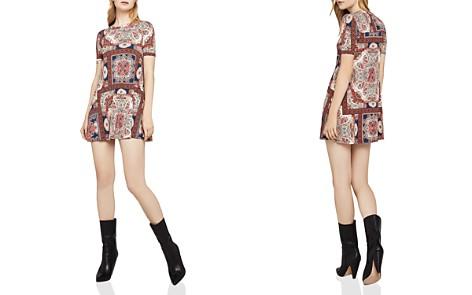 BCBGeneration Paisley Print A-Line Mini Dress - Bloomingdale's_2