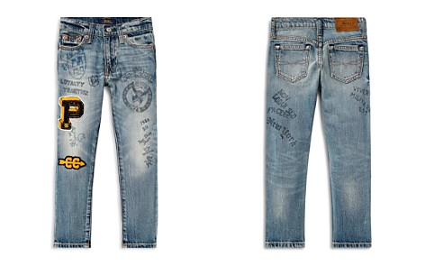 Polo Ralph Lauren Boys' Sullivan Slim-Fit Jeans with Doodles & Patches - Little Kid - Bloomingdale's_2