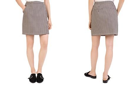 The Kooples Checkered Mini Skirt - Bloomingdale's_2