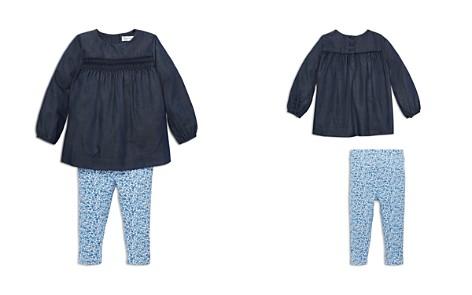 Ralph Lauren Girls' Smocked Top & Floral Leggings Set - Baby - Bloomingdale's_2