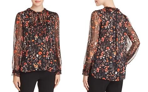 Elie Tahari Scarla Silk Floral-Print Blouse - Bloomingdale's_2