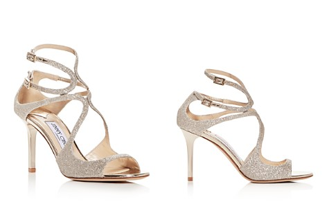 Jimmy Choo Women's Ivette 85 Glitter High-Heel Sandals - Bloomingdale's_2