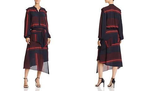 Joie Roz Striped Midi Dress - Bloomingdale's_2