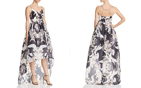 Bariano Printed Organza Gown - 100% Exclusive - Bloomingdale's_2