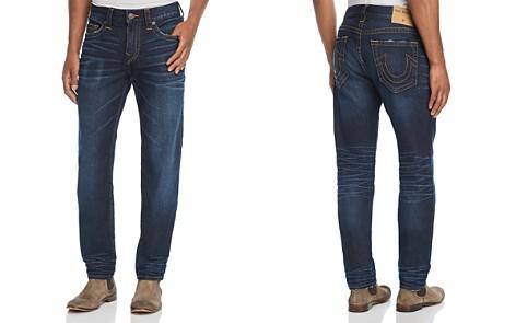True Religion Rocco Slim Fit Jeans in Dark Tunnel - Bloomingdale's_2