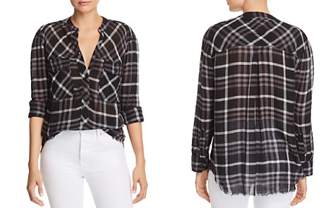 Rails Redding Frayed Plaid Shirt - Bloomingdale's_2