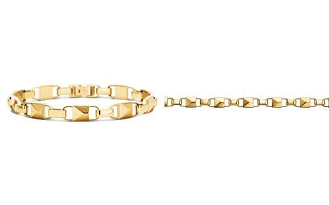 Michael Kors Mercer Link 14K Gold-Plated Sterling Silver Bracelet - Bloomingdale's_2
