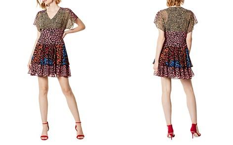KAREN MILLEN Mixed Leopard-Print Mini Dress - Bloomingdale's_2