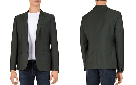 The Kooples Capri Olive Slim Fit Blazer - Bloomingdale's_2