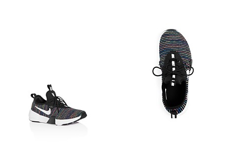 Nike Girls' Ashin Modern SE Knit Lace Up Sneakers - Big Kid - Bloomingdale's_2