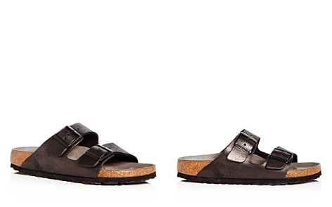 Birkenstock Women's Arizona Washed Leather Slide Sandals - Bloomingdale's_2
