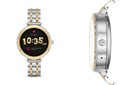 kate spade new york Scalloped Touchscreen Two-Tone Smartwatch, 41mm - Bloomingdale's_2