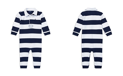 Ralph Lauren Boys' Rugby Stripe Cotton Coverall - Baby - Bloomingdale's_2