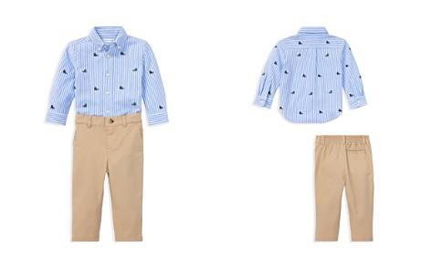 Ralph Lauren Boys' Sneaker-Print Oxford Shirt & Chinos Set - Baby - Bloomingdale's_2
