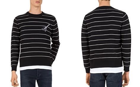 The Kooples Stripe & Guitar Sweatshirt - Bloomingdale's_2