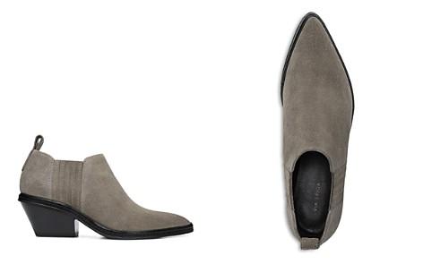 Via Spiga Women's Farly Pointed Toe Suede Mid-Heel Ankle Booties - Bloomingdale's_2