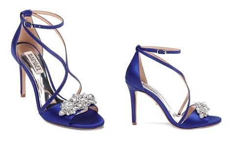 Badgley Mischka Women's Vanessa Open Toe Satin High-Heel Sandals - Bloomingdale's_2