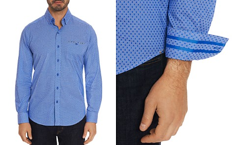 Robert Graham Carrison Dot-Print Tailored Fit Shirt - 100% Exclusive - Bloomingdale's_2