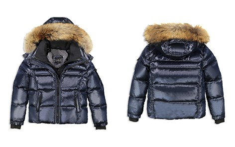SAM. Boys' Mountain Puffer Jacket with Fur Trim - Big Kid - Bloomingdale's_2