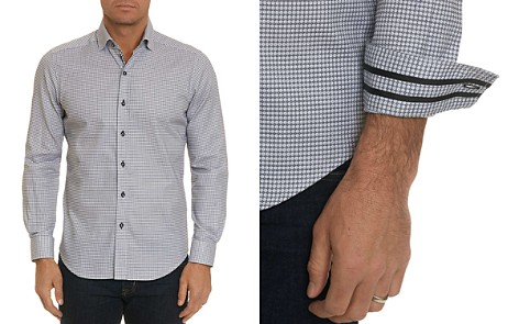 Robert Graham Hobson Geometric-Print Tailored Fit Shirt - 100% Exclusive - Bloomingdale's_2