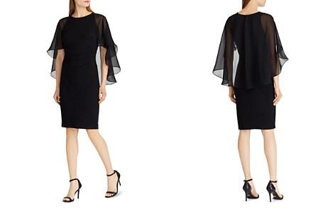 Lauren Ralph Lauren Jersey Cape Dress - Bloomingdale's_2