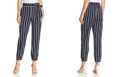 AQUA Striped Jogger Pants - 100% Exclusive - Bloomingdale's_2