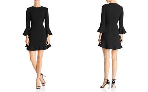 Jill Jill Stuart Flounced Crepe Dress - Bloomingdale's_2