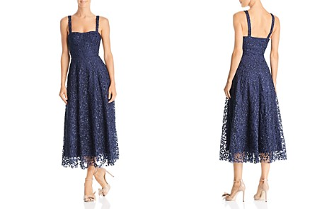 SAU LEE Ambrose Embroidered Dress - Bloomingdale's_2