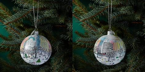 Michael Storrings Central Park Holiday Glass Ball Ornament - Bloomingdale's_2
