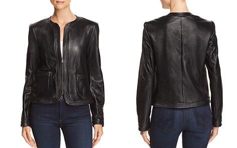 Rebecca Taylor Leather Jacket - Bloomingdale's_2