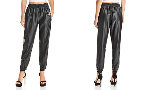 BLANKNYC Faux Leather Jogger Pants - 100% Exclusive - Bloomingdale's_2