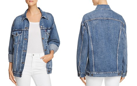 Levi's Baggy Trucker Denim Jacket in Bust A Move - Bloomingdale's_2