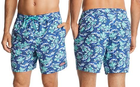 Vineyard Vines Marlin & Floral-Print Swim Trunks - Bloomingdale's_2