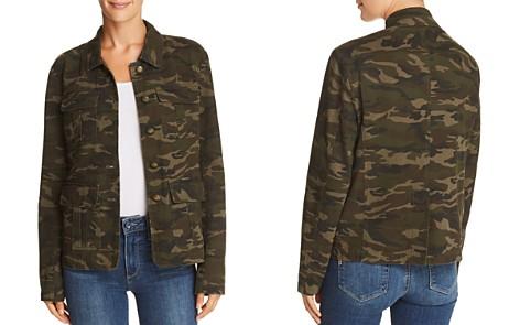 AQUA Camo Military Jacket - 100% Exclusive - Bloomingdale's_2