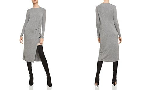 BCBGMAXAZRIA Twist-Front Midi Dress - Bloomingdale's_2