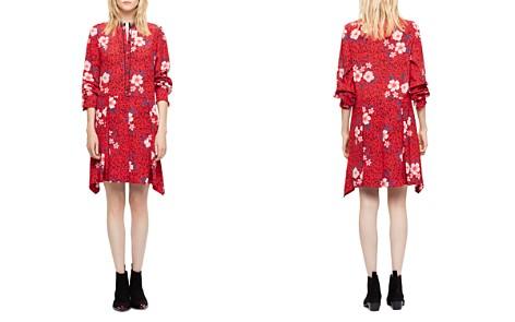 Zadig & Voltaire Ruti Pensee Silk Dress - Bloomingdale's_2