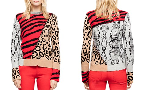 Zadig & Voltaire Delly Animal-Print Sweater - Bloomingdale's_2