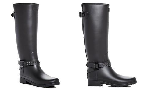 Hunter Women's Refined Matte Biker Rain Boots - Bloomingdale's_2