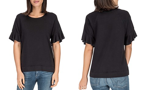 B Collection by Bobeau Martha Bell Sleeve Top - Bloomingdale's_2