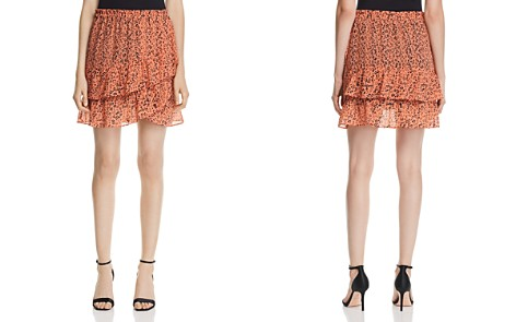 Scotch & Soda Leopard-Print Tiered Asymmetric Tulip Skirt - Bloomingdale's_2