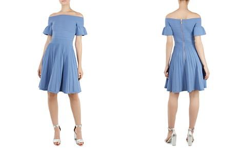 Ted Baker Criptum Off-the-Shoulder Knit Dress - Bloomingdale's_2