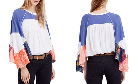 Free People Friday Fever Patchwork Top - Bloomingdale's_2