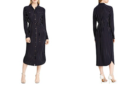Lauren Ralph Lauren Pinstriped Jersey Shirt Dress - Bloomingdale's_2