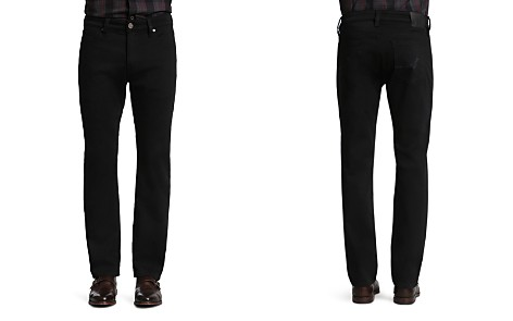 34 Heritage Courage Select Straight Fit Jeans in Double Black - Bloomingdale's_2