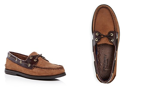 Sperry Men's Authentic Original Two Eye Nubuck Leather Boat Shoes - Bloomingdale's_2