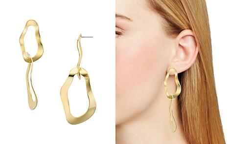 AQUA Organic Wavy Link Drop Earrings - 100% Exclusive - Bloomingdale's_2