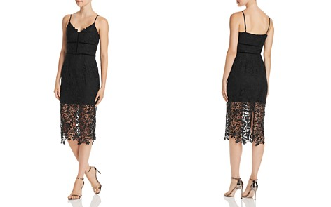 Adelyn Rae Woven Lace Illusion Dress - Bloomingdale's_2
